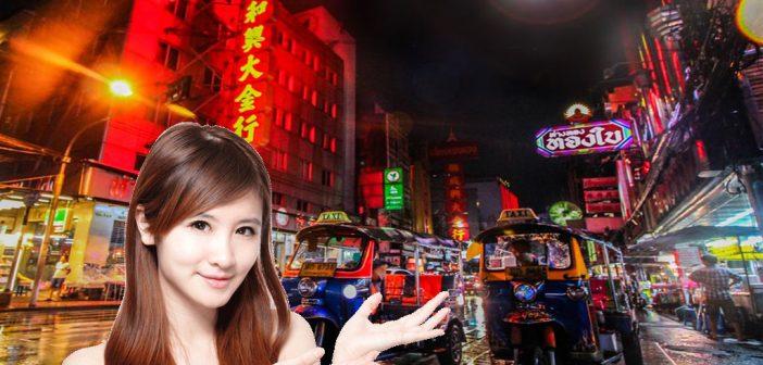 Ladyboys in Bangkok treffen