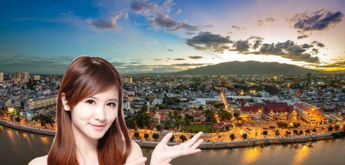Ladyboys in Chiang Mai treffen